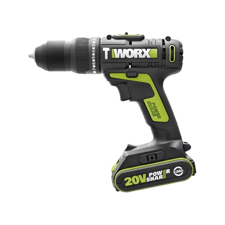 威克士 WU179 震動電鑽 20V 40牛頓米 雙速 大腳板 10mm夾頭 三用 螢宇五金