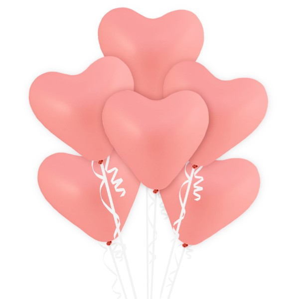 派對城 現貨 【12吋愛心乳膠氣球10入-紅/粉/白 共三色】 歐美派對 生日氣球 乳膠氣球  派對佈置 拍攝道具