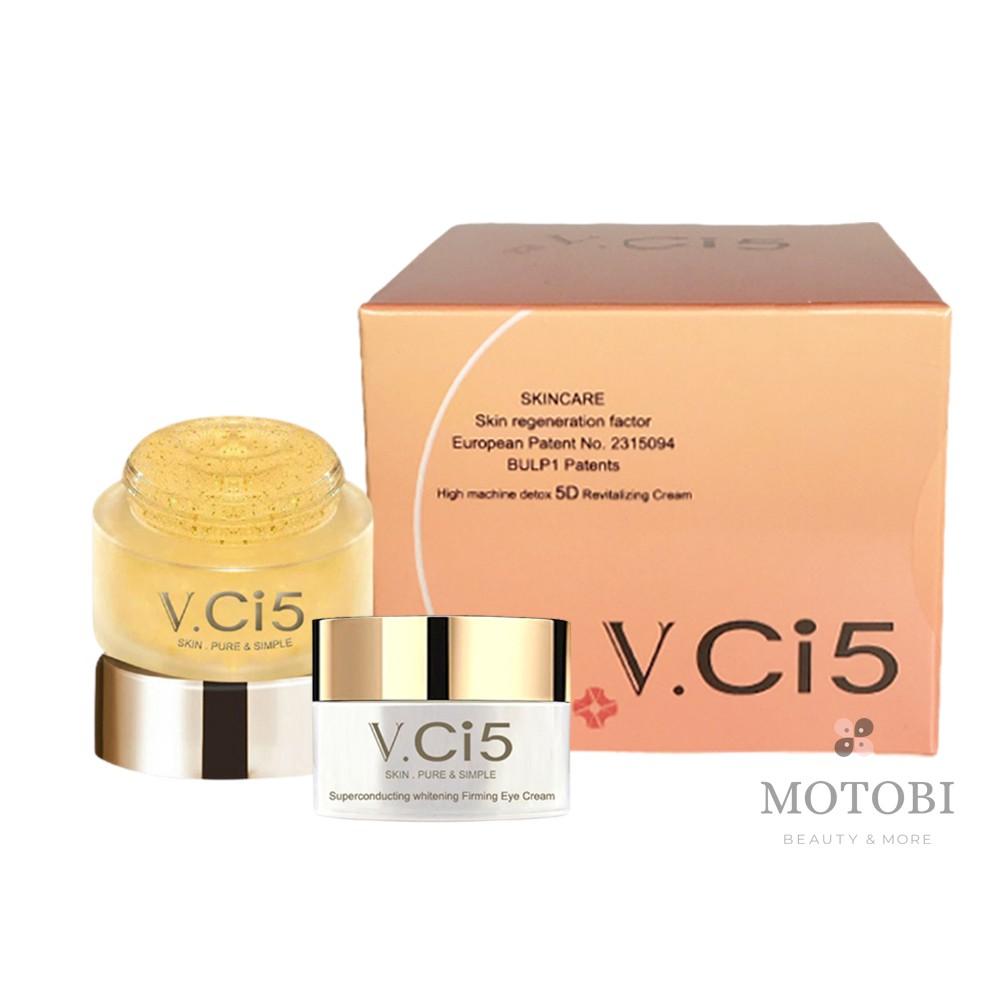 V.Ci5 奇肌之密 人氣保養3件組(煥顏霜+黃金霜+眼霜) 限時送小禮物