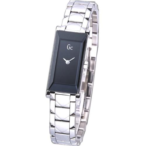 【GUESS】手錶 GC 16007L2 黑色簡約時尚女錶_保固二年,超值搶購