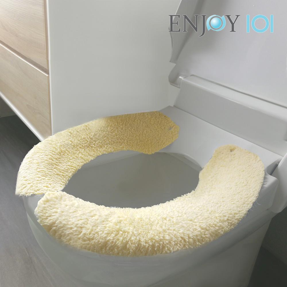《ENJOY101》水洗式抑菌止滑馬桶坐墊(馬桶墊/保潔墊)-家用型