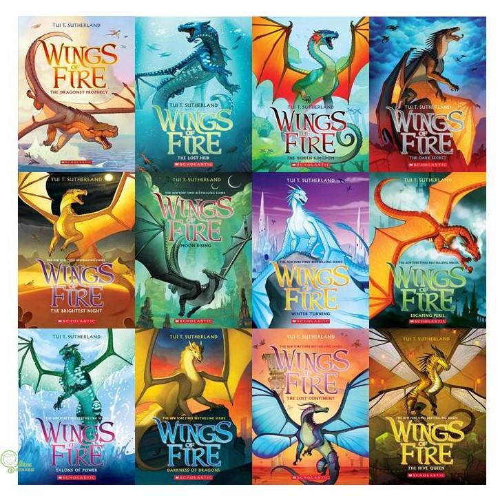 Wings of Fire #1-12 (美國版)(共12本平裝本)【禮筑外文書店】[69折]