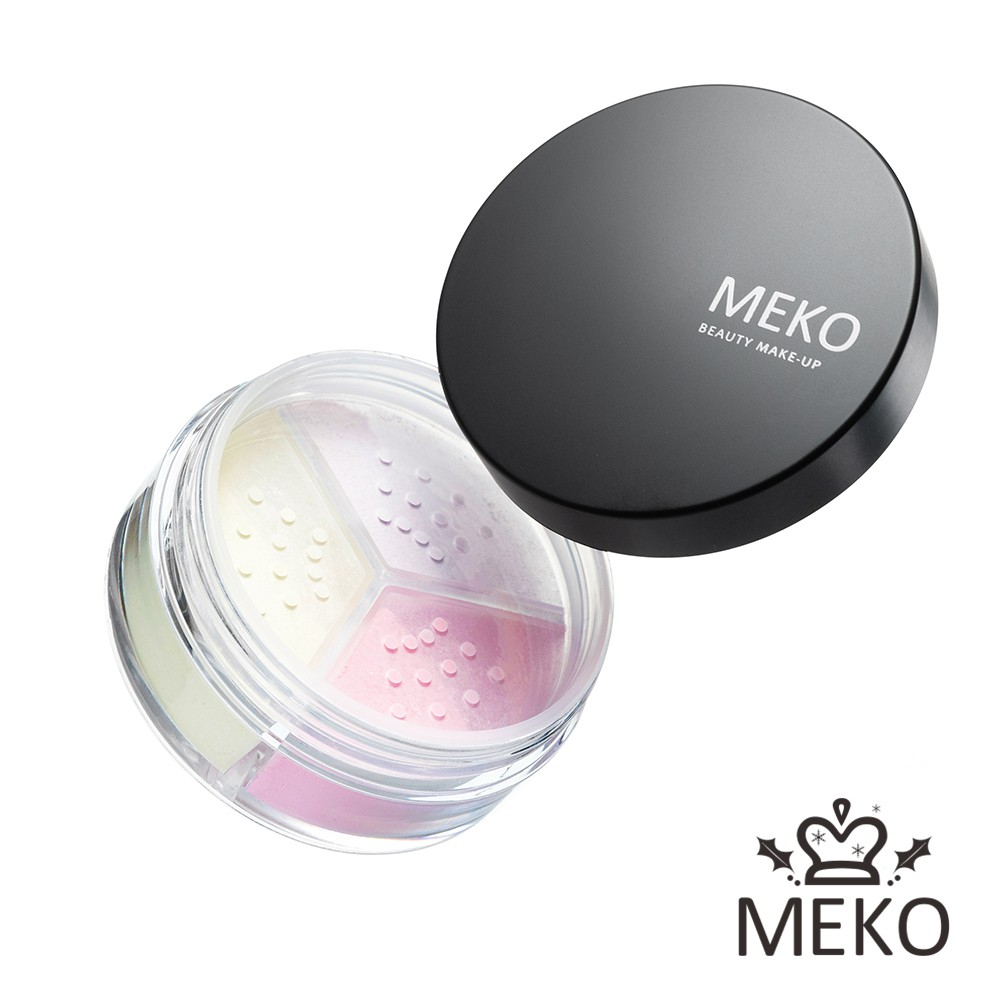 【MEKO】羽透光柔焦定妝蜜粉(共3色) 9g