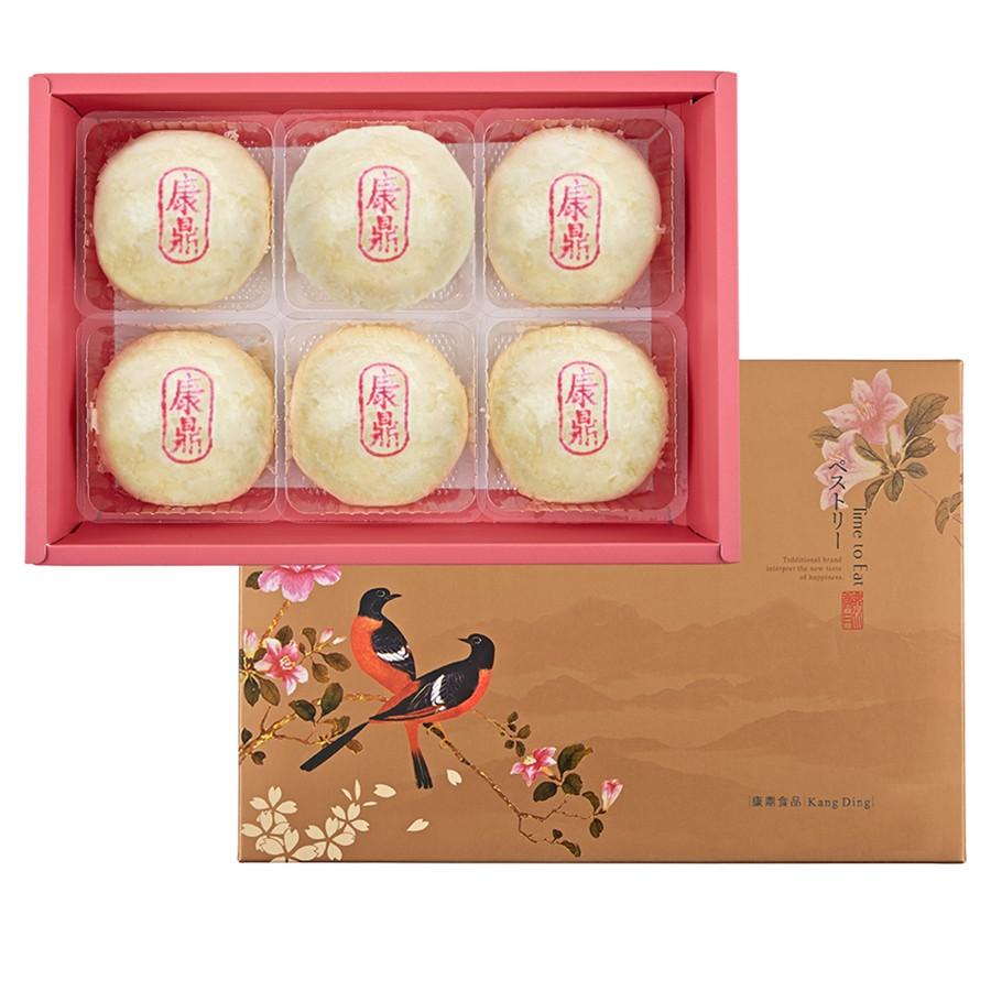 康鼎招牌綠豆椪6入禮盒