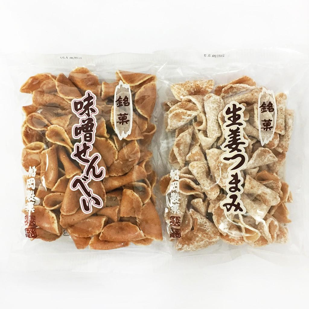 船岡製菓 生薑煎餅 / 味增煎餅 140g