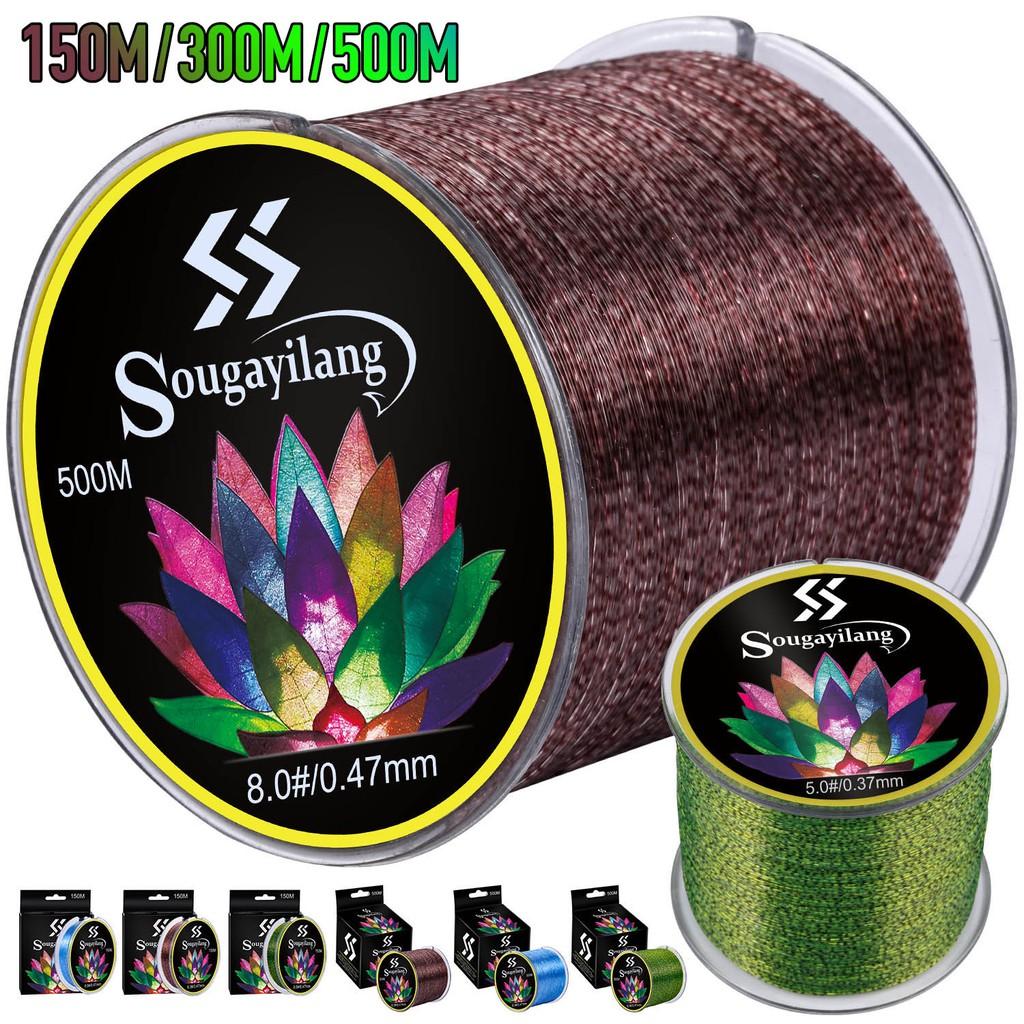 Sougayilang嗖嘎一郎 150米 300米 氟碳塗料線 魚線 釣魚線 超強拉力 多型號 多顏色 台釣線競技漁具線