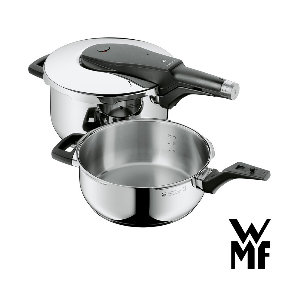 【德國WMF】PERFECT PRO 快力鍋二件套組 3.0/4.5L(原廠公司貨)《泡泡生活》