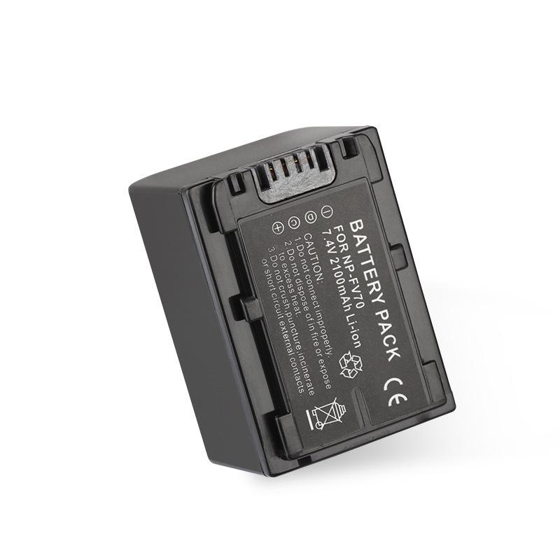 sony索尼NP-FV70副廠電池 數碼相機攝像機電池 雙電送雙充 兼容FV70電池【滿額送】【台灣現貨】