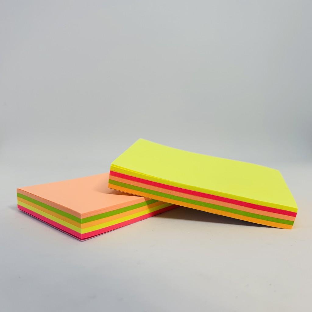《文具工廠》Kennyart巨城 2X3螢光紙便利貼-100張