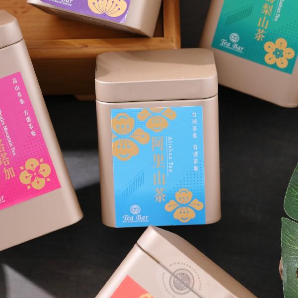 B&G 德國農莊 TeaBar 台灣茶 阿里山金萱茶 二兩/四兩 完整葉片/手工揉捻製成/散茶/台灣在地茶農