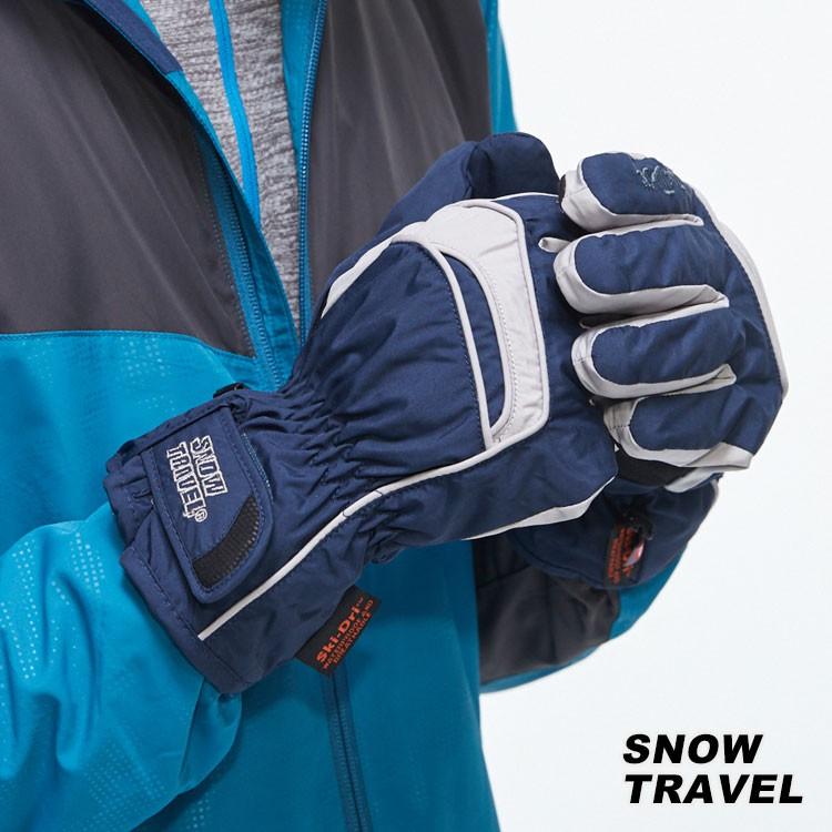 SNOW TRAVEL PRIMALOFT防水透氣保暖手套 AR-65