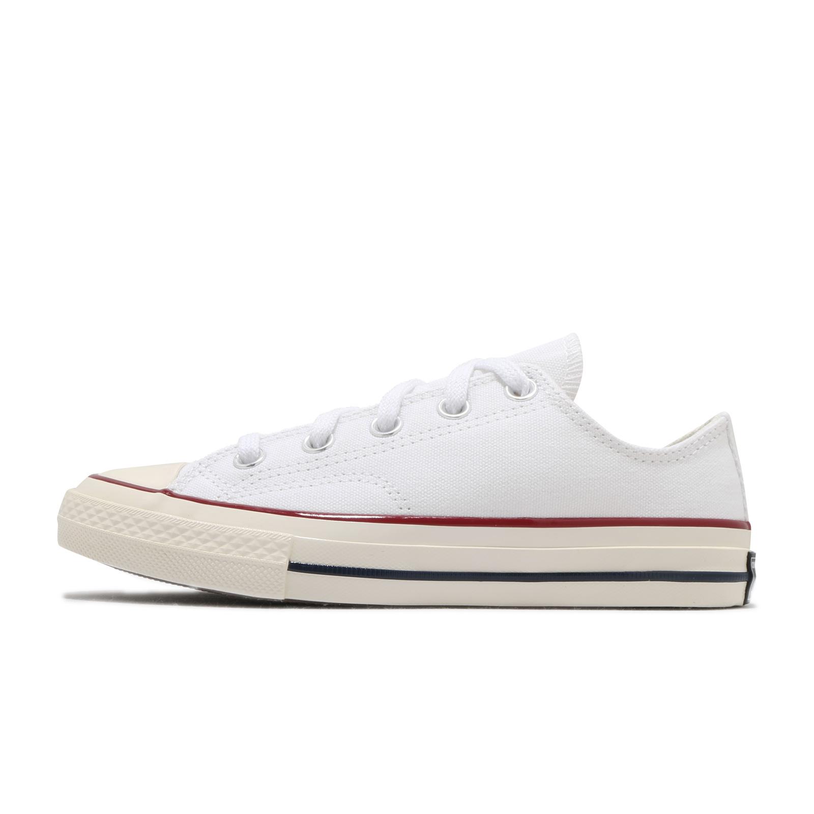 Converse 帆布鞋 Chuck 70 白 低筒 1970 童鞋 小朋友【ACS】 368988C