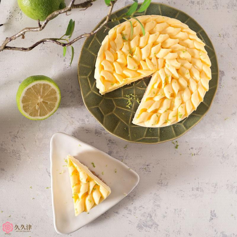 [久久津乳酪] 6吋 花現檸檬乳酪蛋糕