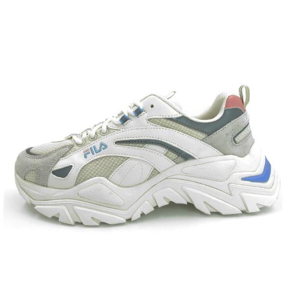 FILA INTERATION LIGHT 休閒鞋 老爹鞋 增高 白灰水藍 女生尺寸 【4C107V152】