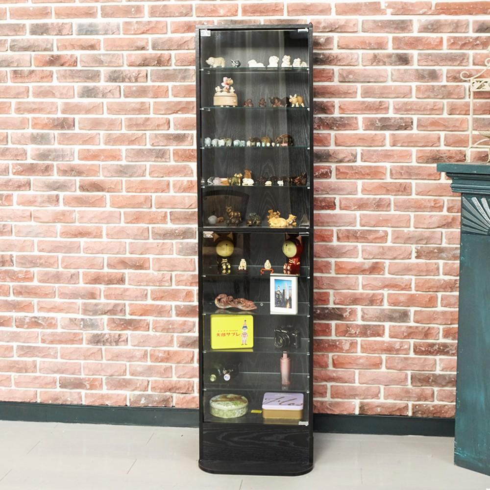 居家大師 公仔收藏玻璃展示櫃 收納櫃/收藏櫃/玻璃櫃/書櫃/模型櫃/公仔櫃 BO018