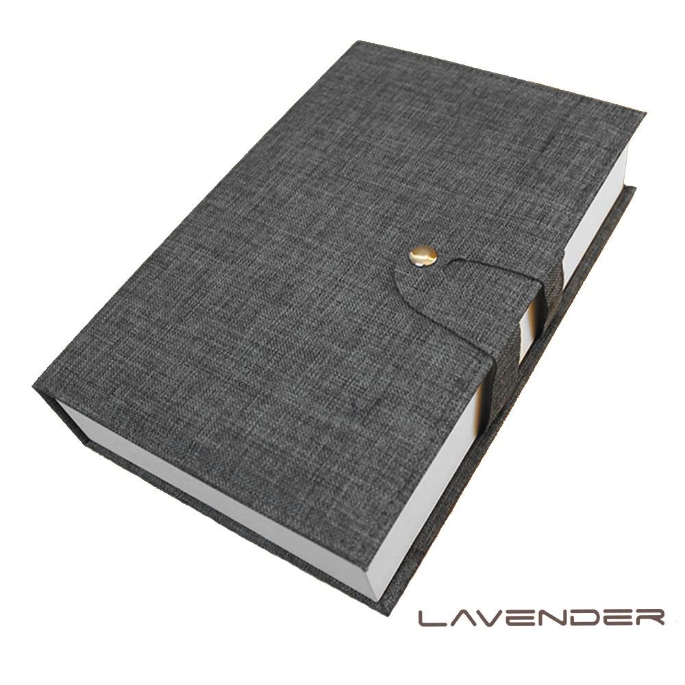 【Lavender】經藏書眼鏡收納盒-灰
