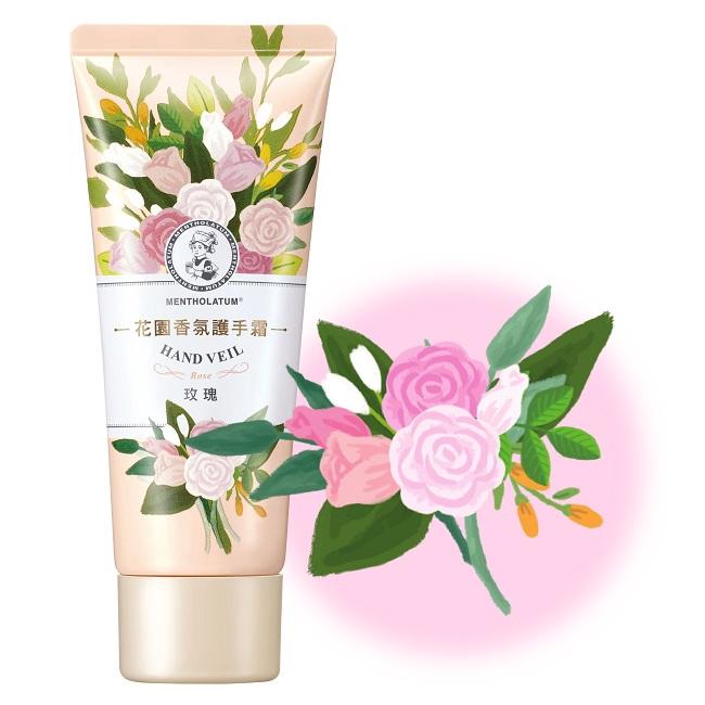 曼秀雷敦花園香氛護手霜-玫瑰50g