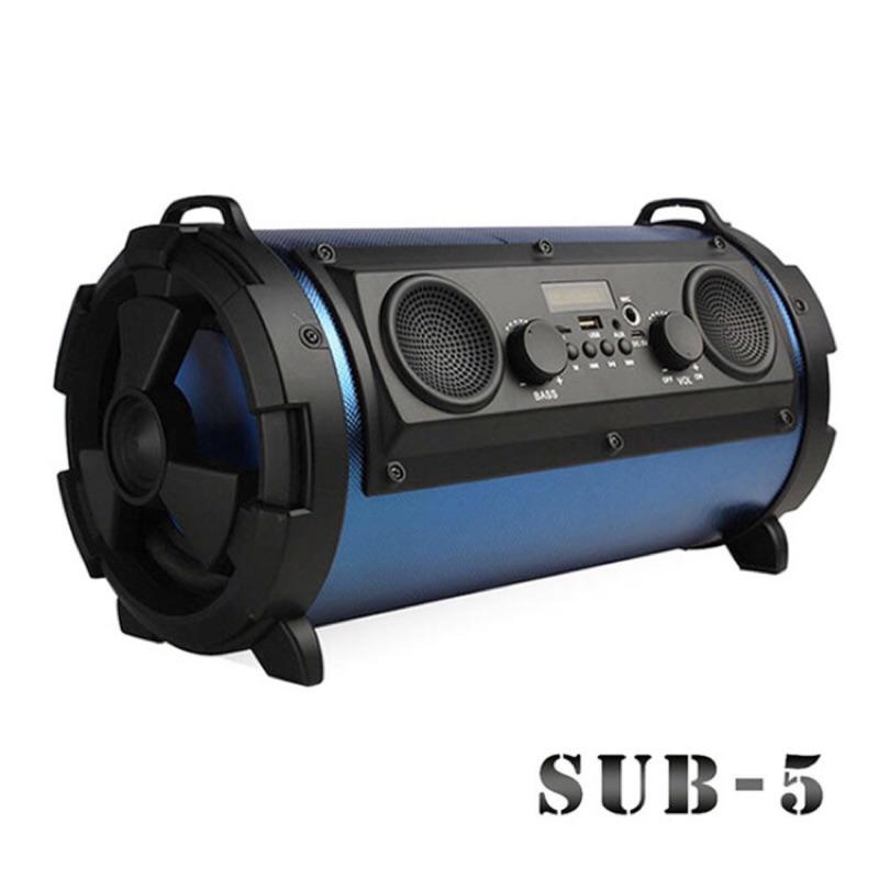 【台灣公司貨】5吋智能藍芽喇叭 藍芽喇叭/藍牙音箱/智能喇叭/工地音箱/重低音喇叭/重低音音響/炮筒音箱/戶外音響