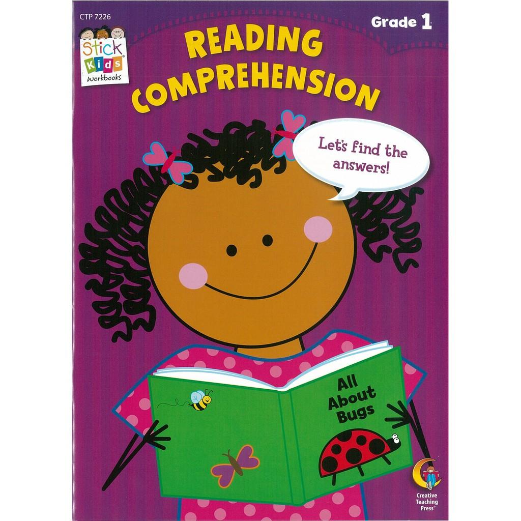 Stick Kids Workbook Grade 1: Reading Comprehension 兒童英文活力練習簿