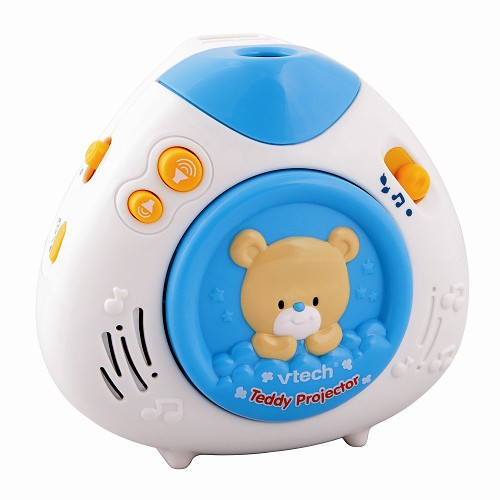 Vtech 寶貝熊床邊音樂投射機,音樂的美妙旋律及投射在天花板上的可愛旋轉影像,陪伴著寶寶進入甜甜的夢鄉!