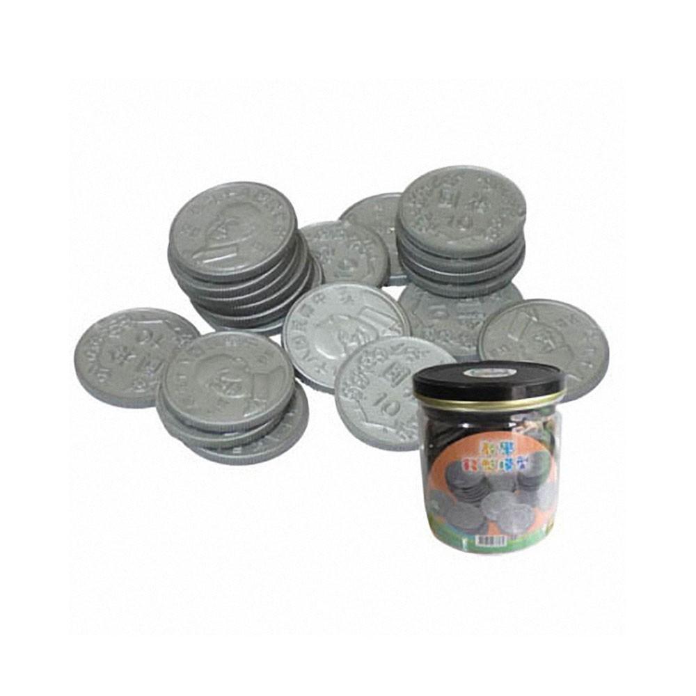 【偉志】教育錢幣模型(拾圓 罐裝)-168幼福童書網