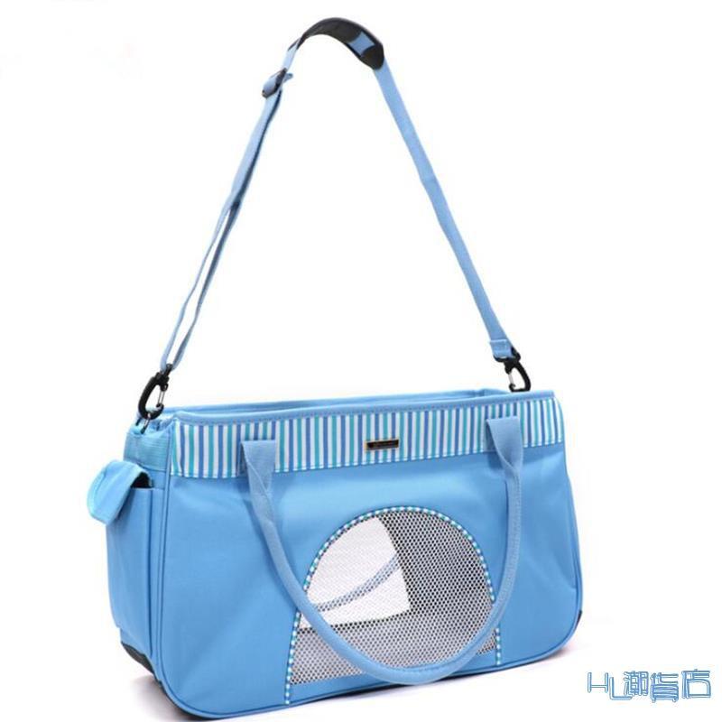 寵物外出包 寵物包狗包貓包折疊透氣外出便攜泰迪背包單肩手提箱斜跨貓狗包袋『HL530』