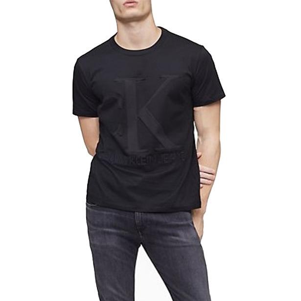 Calvin Klein CK 立體鋼印 大logo 短袖上衣 短T
