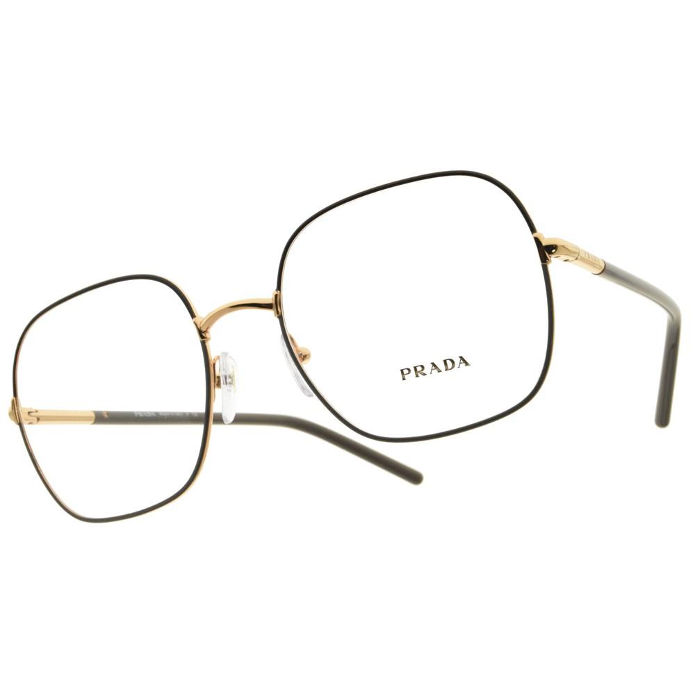 PRADA 光學眼鏡 VPR56W 02H-1O1 潮流金色時尚 精品眼鏡 - 金橘眼鏡