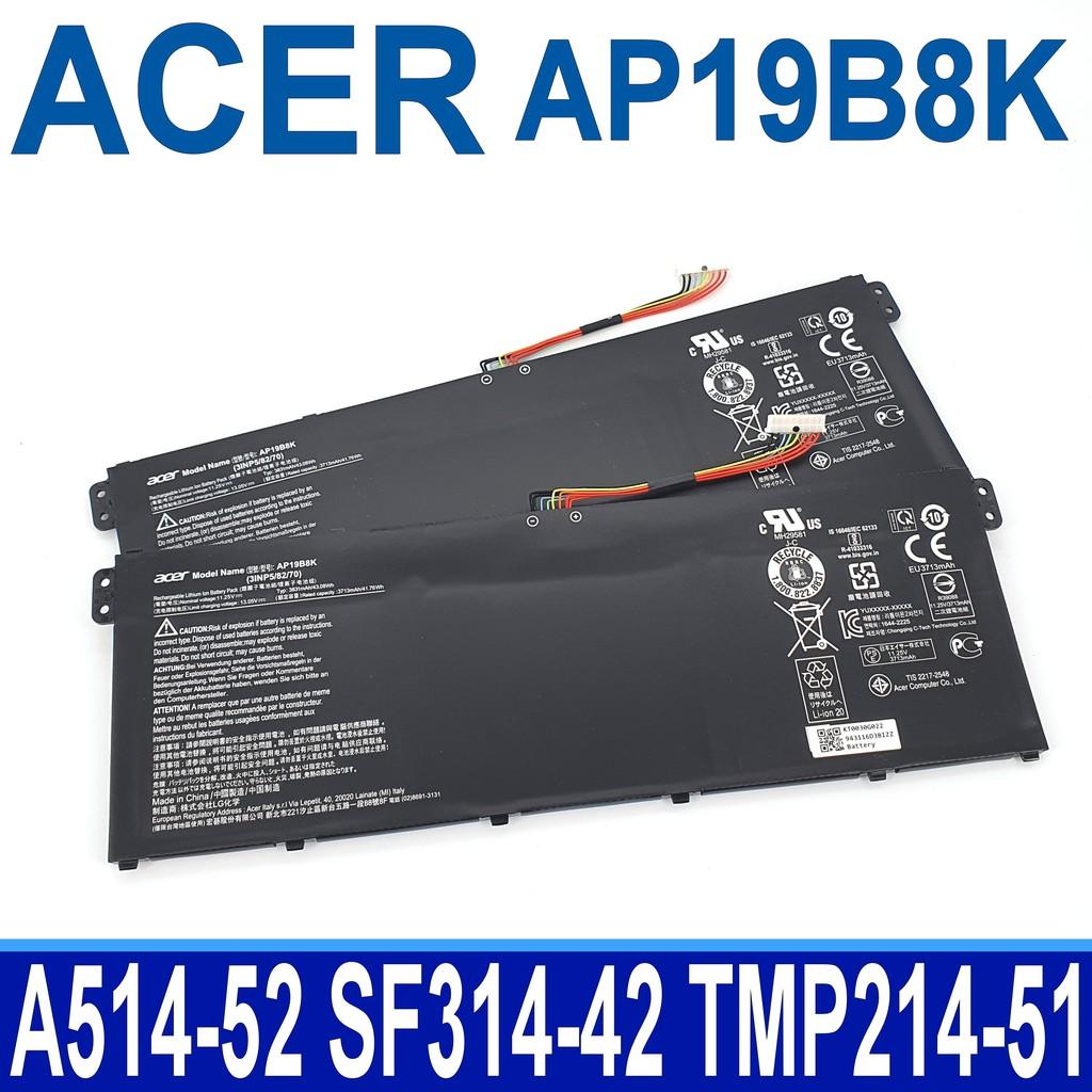 宏碁 ACER AP19B8K . 電池 SF314-42 Aspire 5 A514-54G A515-56G