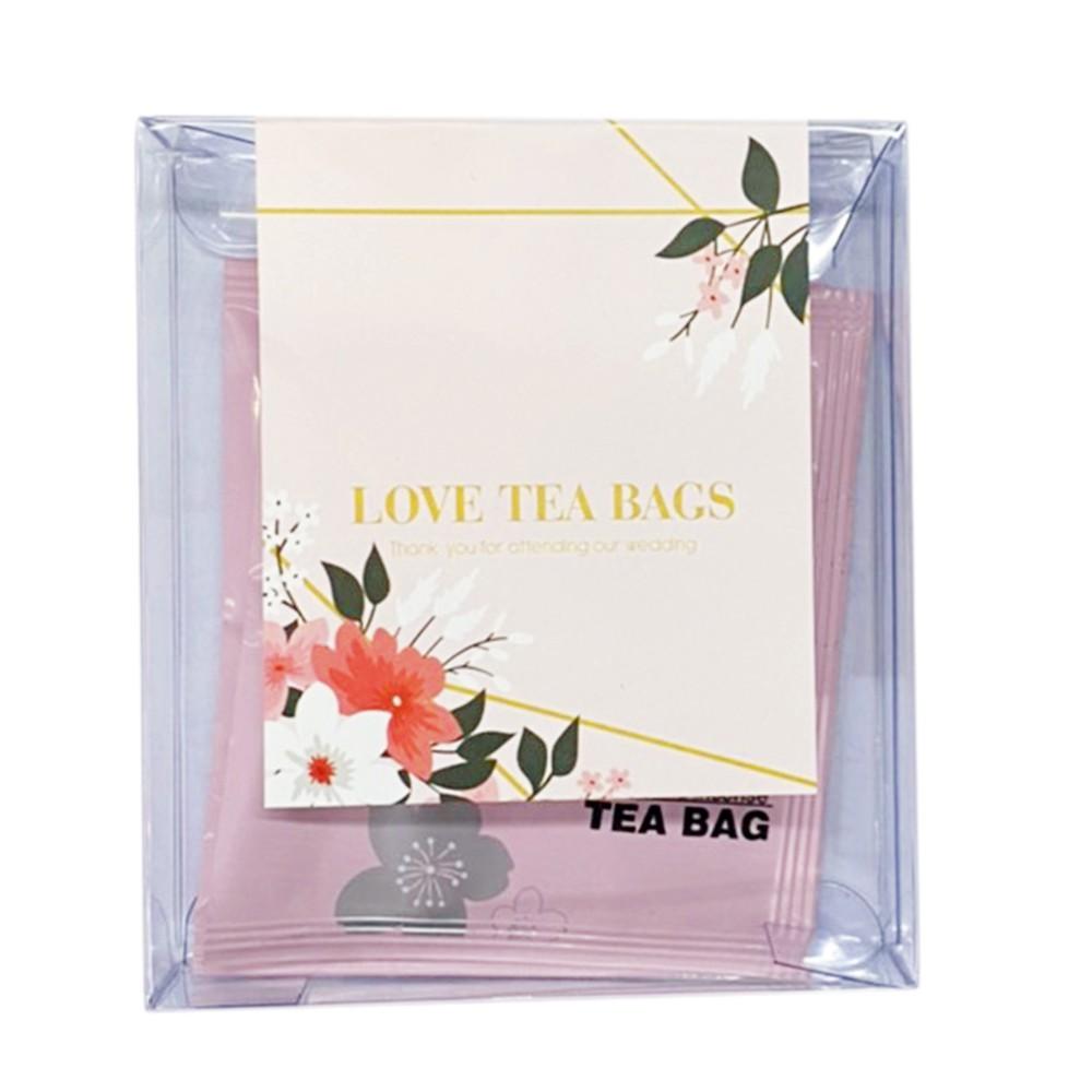 茶2指 客製化婚禮小物-茶包 囍茶 三角立體茶包  冷泡茶 2進禮物