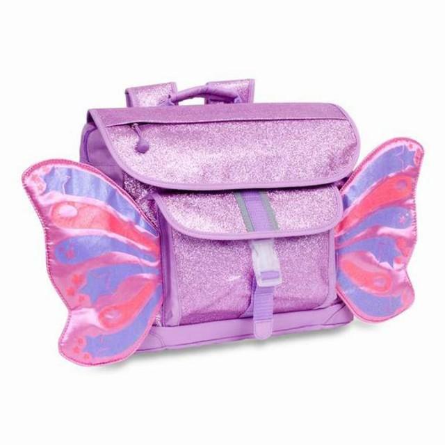 Bixbee 飛飛童趣系列-粉紫閃閃蝴蝶中童背包