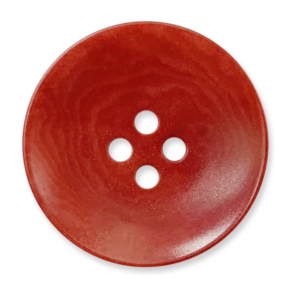 象牙果實釦 COROZO /4孔/ 7293 09號色/ 10顆/組 西服鈕釦 巴貝多櫻桃紅