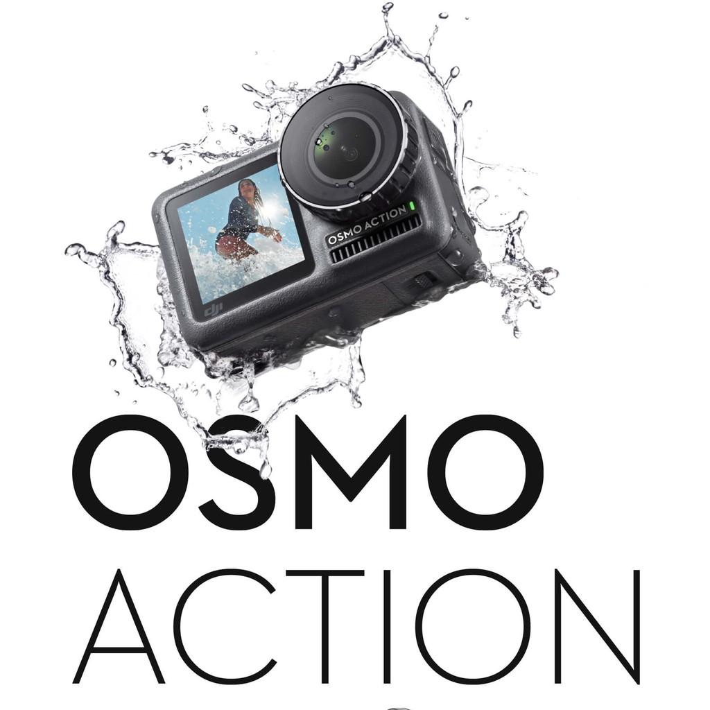 DJI Osmo Action  靈眸運動相機 4K 前後雙螢幕 11米裸機防水 語音控制