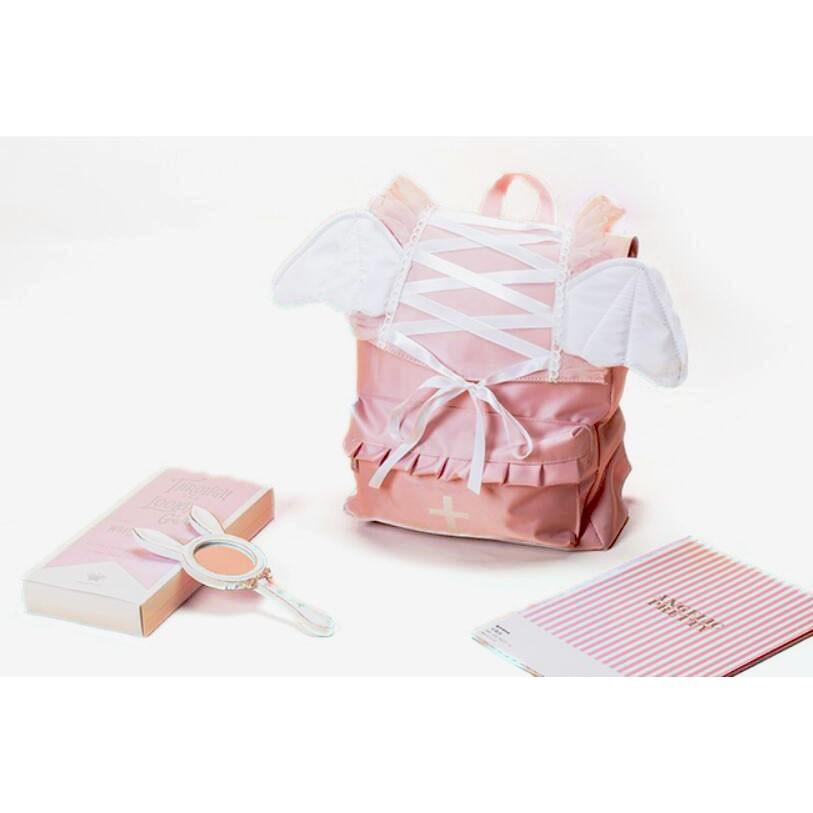 【駿隴】日系 軟妹 硬妹 蘿莉塔 Lolita JK 暗黑少女 惡魔 蝙蝠 翅膀 蝴蝶結 書包 手提包 背包