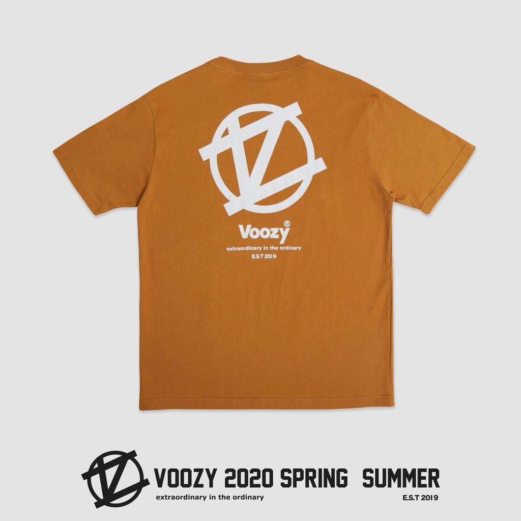 Voozy ® 20ss 大背Logo (芥黃)