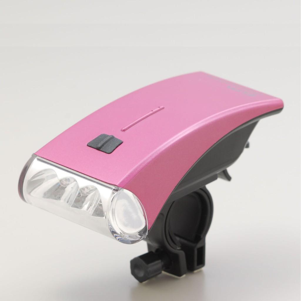 日本朝日電器 流線造型車燈 DOP-HL100(P)粉紅色 白光