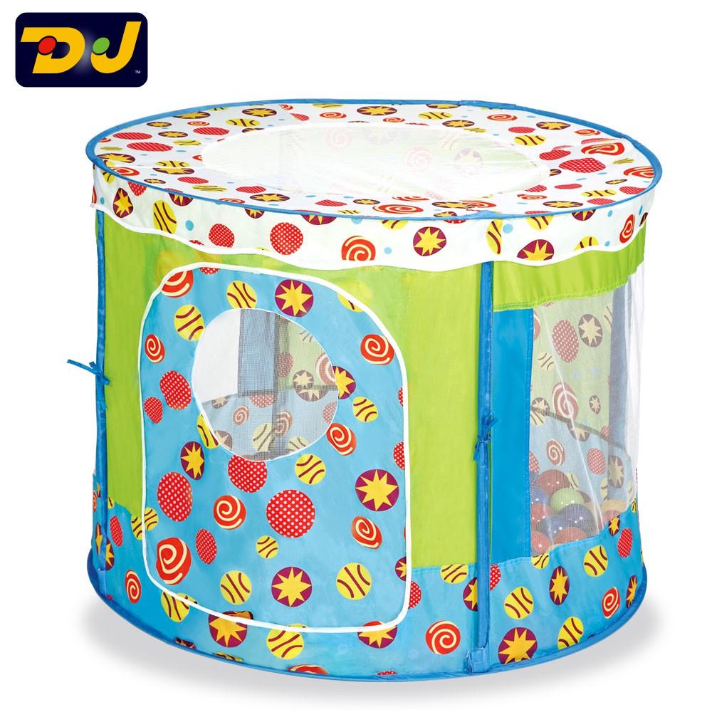 (有現貨)DJToys-寶貝星球遊戲球屋 (提袋款,不含球)