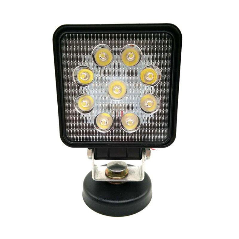 27W 圓形/方形 LED工作燈 霧燈 日行燈 探照燈 照明燈 舞台燈 倒車燈【DG485.495】