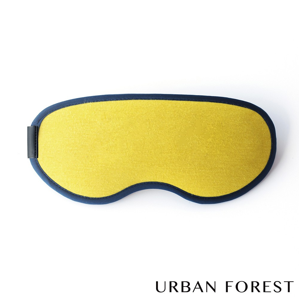 URBAN FOREST都市之森 花卷-旅行眼罩 (沙漠黃)