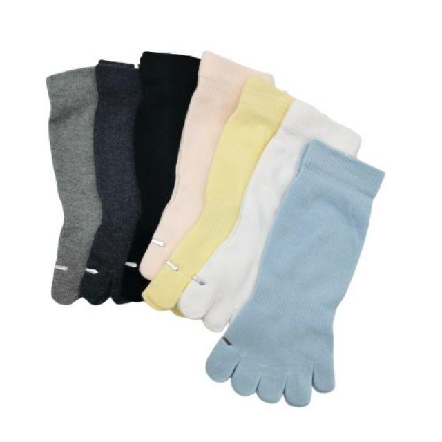 純棉彩色五指短襪 5920 台灣製
