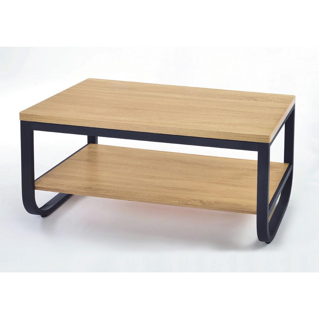 【120cm大茶几-K11-94】實木原木玻璃 大理石長方桌 大小邊几 圓桌  【金滿屋】