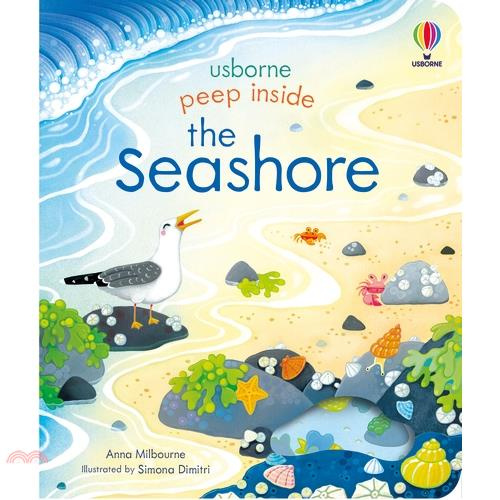 Peep Inside the Seashore (硬頁翻翻書)【三民網路書店】(硬頁書)[69折]