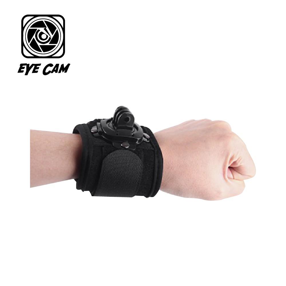 GoPro 副廠 GOPRO 減壓 旋轉手腕帶【eYeCam】360度旋轉 HERO 8 6 7 跳水 運動攝影 浮潛