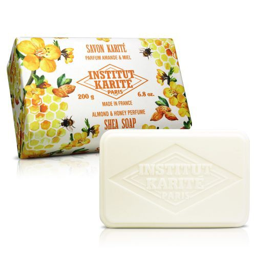 Institut Karite Paris 巴黎乳油木杏仁蜂蜜花園香氛手工皂(200g)