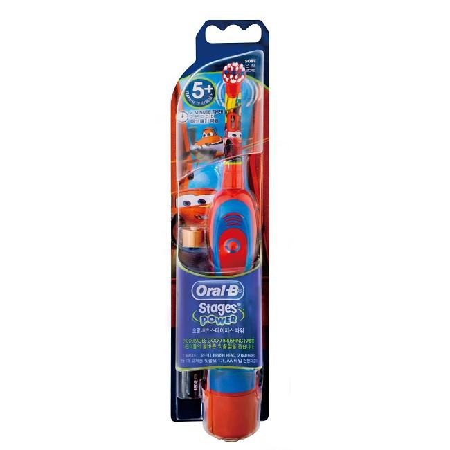 歐樂B D2兒童電池式電動牙刷兩款隨機出貨