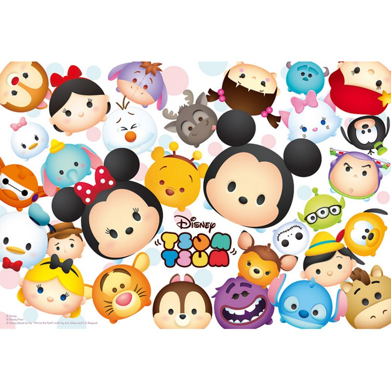 Disney  Tsum Tsum翻轉在一起拼圖300片