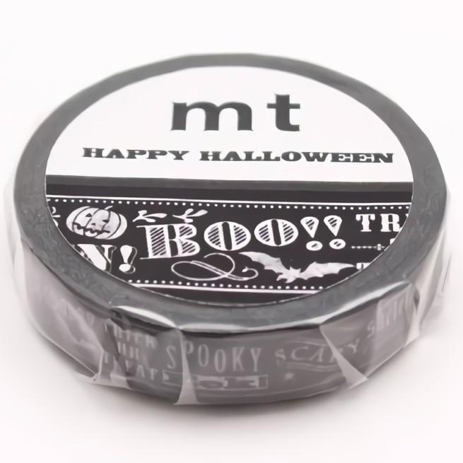 mt Masking Tape 和紙膠帶/ 2017 Halloween/ Letters eslite誠品