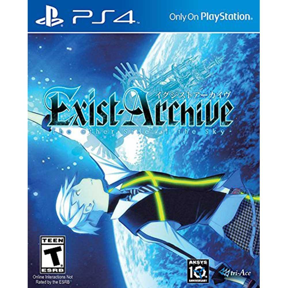 PS4 亡者戰記 -在另一側的天空下- 英日文美版 Exist Archive The【一起玩】(現貨全新)