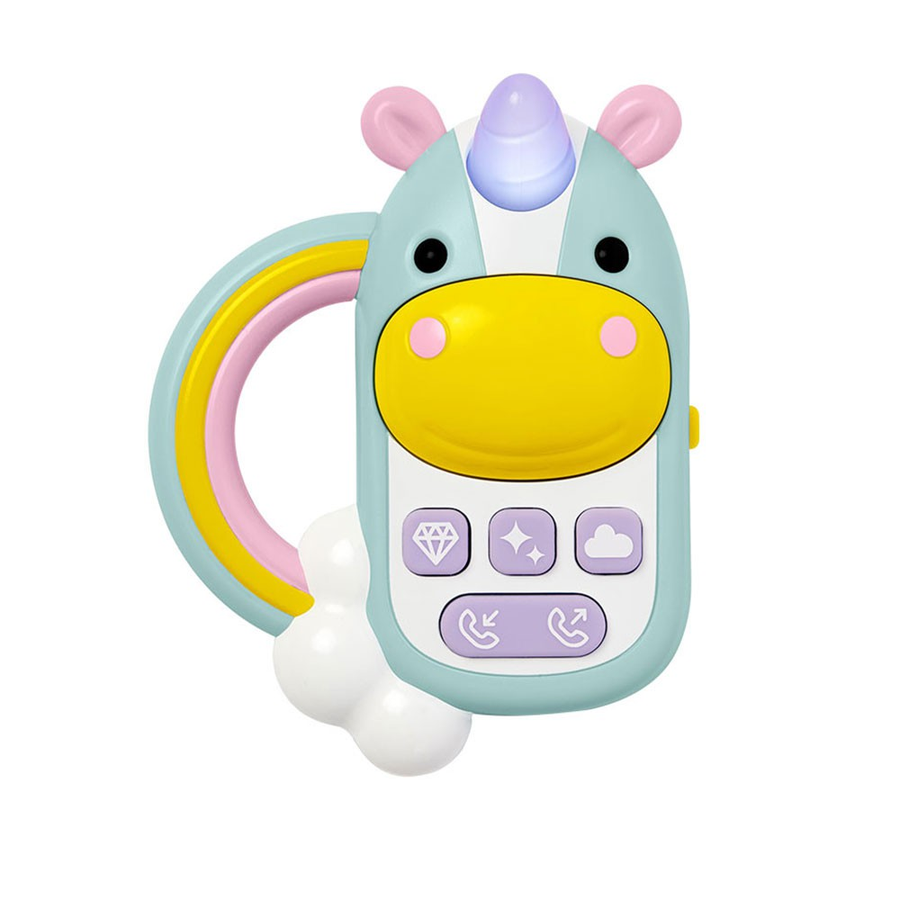 【美國Skip Hop】幼兒啟蒙玩具-獨角獸電話 幼兒玩具 寶寶手機 (LAVIDA官方直營)