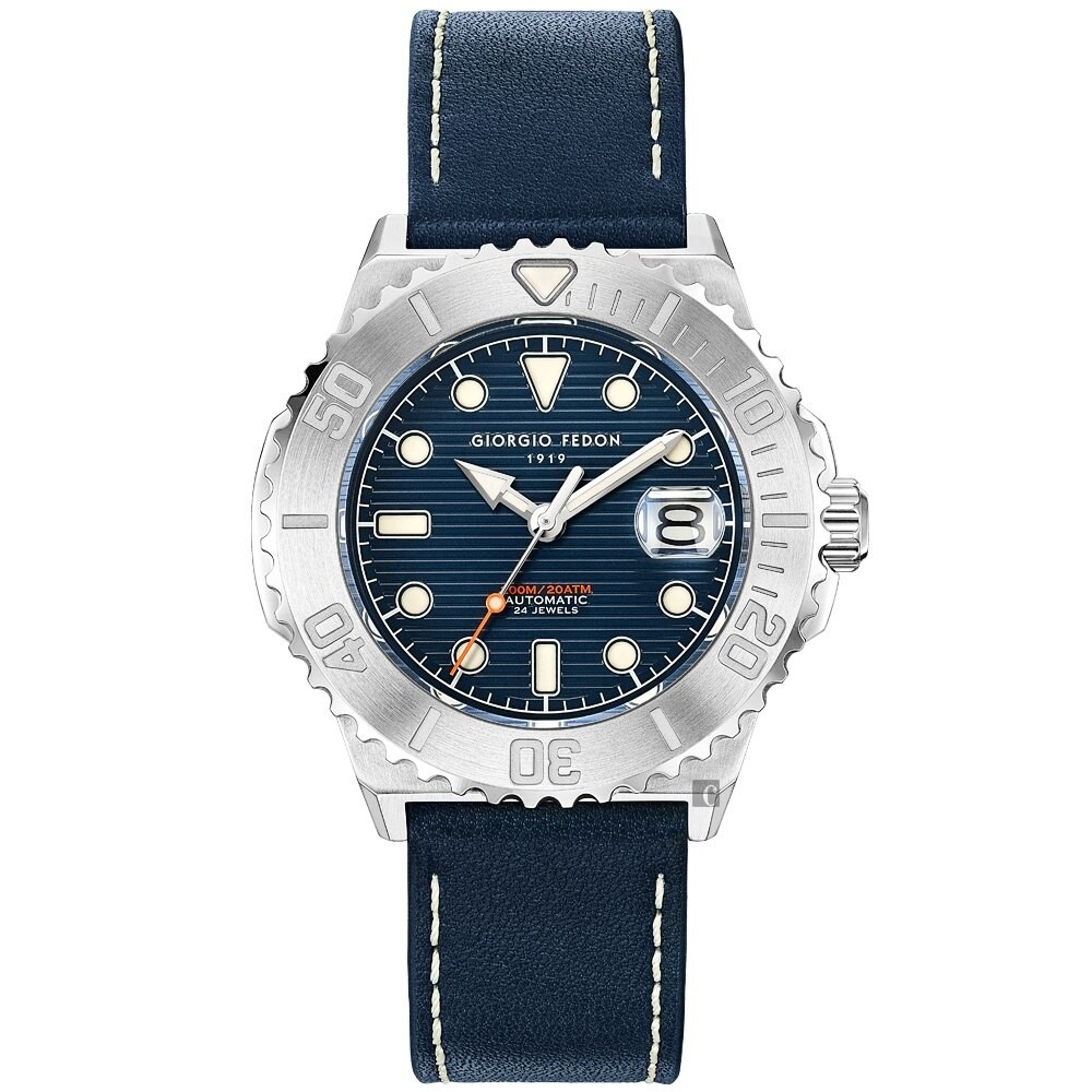 GIORGIO FEDON 1919 浪行者潛水機械錶(GFCS002)-44.5mm